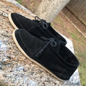 {Toms} Black Suede shoes